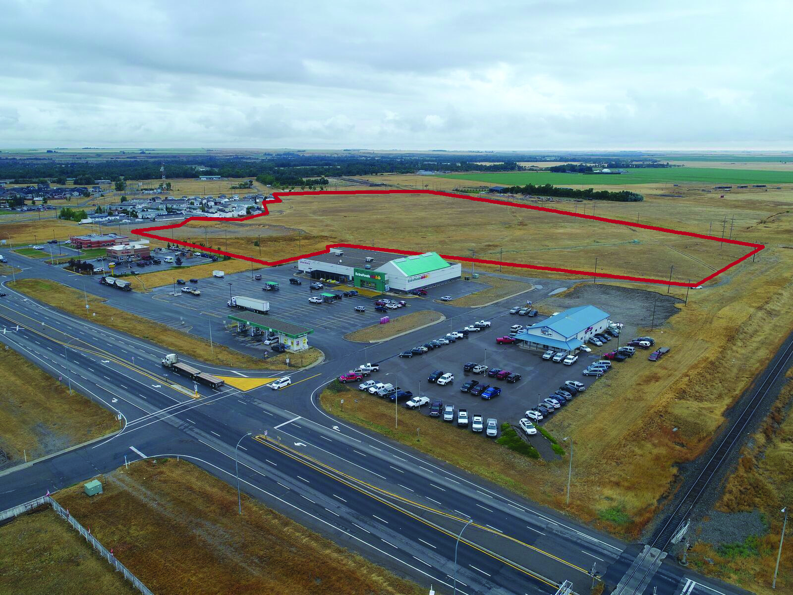 44 Acres at Entrance to Fort Macleod