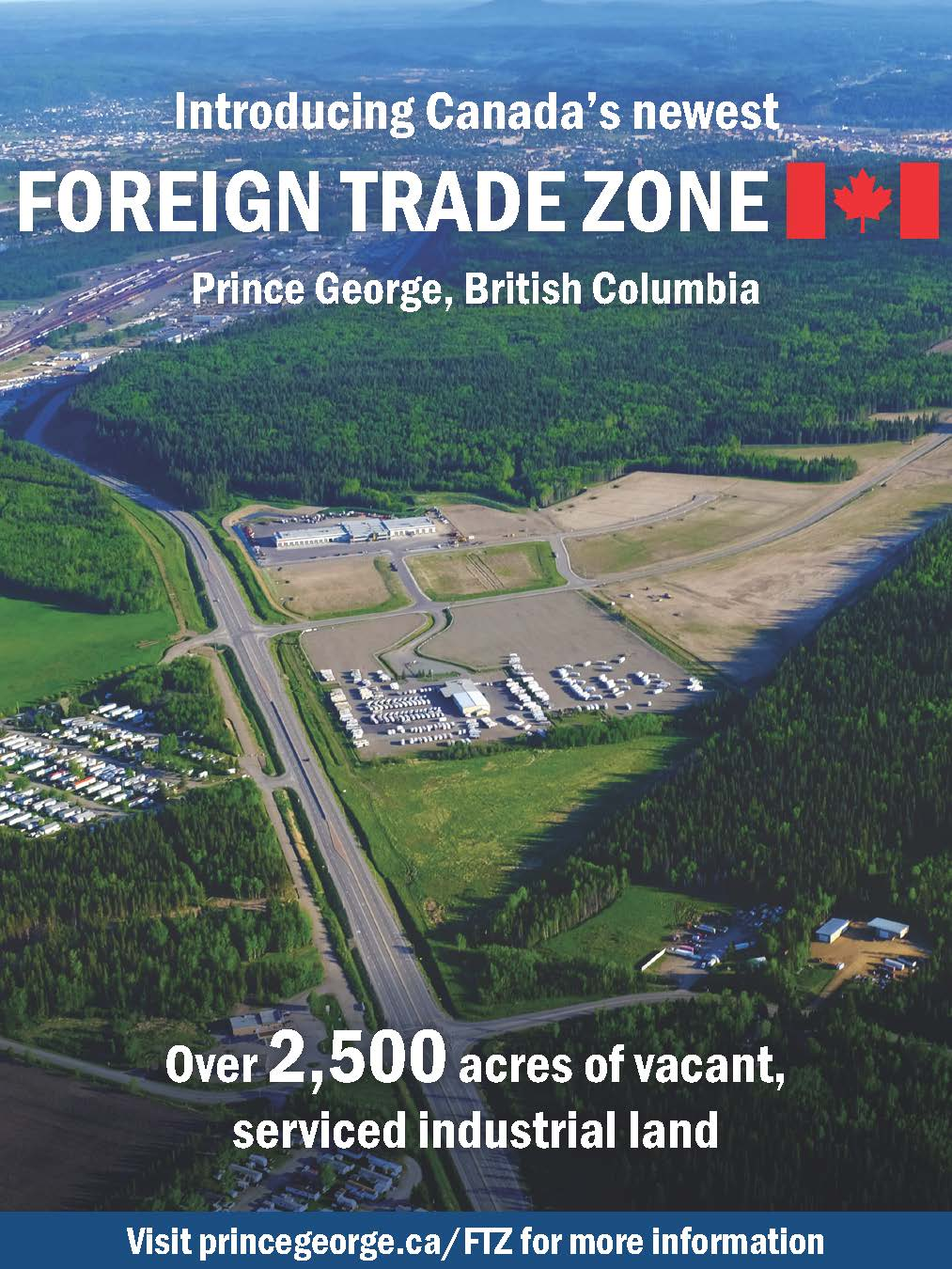 Prince George Foreign Trade Zone (FTZ)